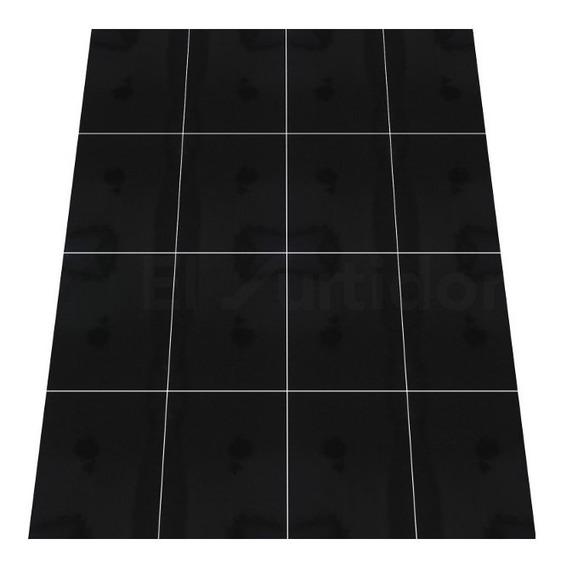 Piso Dual 33.3x33.3 Vitromex 1.44m Negro