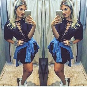 6316530ce0 Roupas Femininas - Vestidos Outros Tipos Azul marinho no Mercado ...