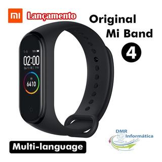 Relógio Inteligente Pulseira Xiaomi Mi Band 4 Original Multi Idiomas