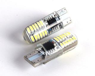 T10 Pellizco Strobo + Fijo Doble Función (varios Colores)