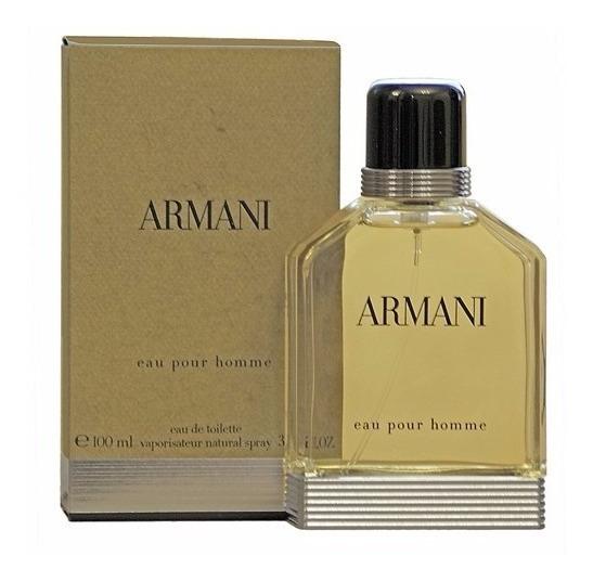 Perfume Armani Pour Homme 100ml Masculino Original