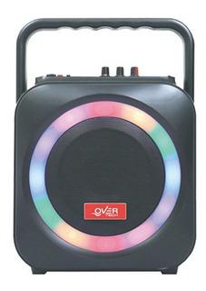 Over Tech Parlante Ov-105m Microfono Inalambrico Blue Cuotas