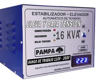Elevador De Tension 16 Kva Rango 110 265 Pampa Ahora 12 Y 18