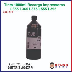 Tinta 1000ml Recarga Impressoras L355 L365 L375 L555 L395