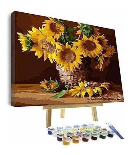 La Pintura Al Oleo Vigeiya 16x20in Por Numeros Para Adultos