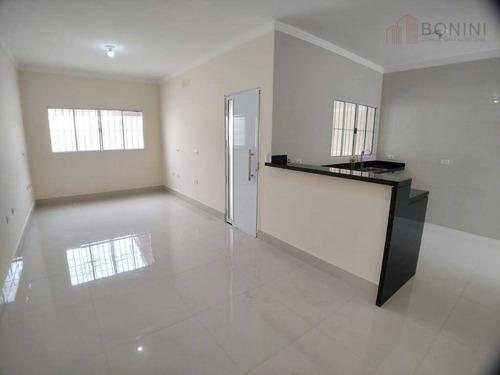 Vendo Casa (nova) - Parque Nova Carioba - Americana - Sp - Ca0573