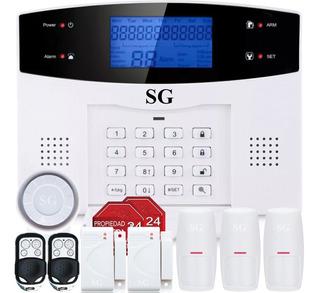 Alarma Gsm Tel Seguridad Inalambrica Sms App Casa Vecinal