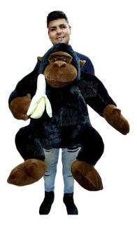 Mono De Peluche Gigante Gorila De Peluche Importado !!
