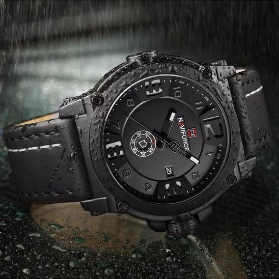 Relógio De Luxo Masculino Naviforce 9099