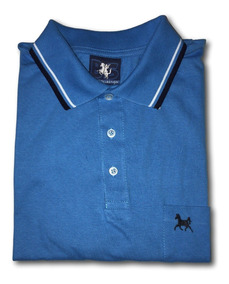 Camisa Polo Masculina Bolso G A G7 Grandes Plus Size 561