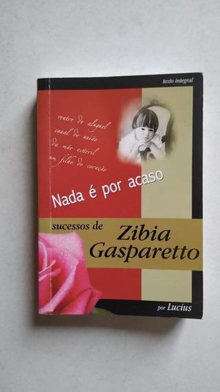 Livro Nada É Por Acaso De Zibia Gasparetto Em Promoção