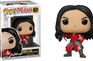 Mulan Guerrera Funko Pop Warrior Disney Original