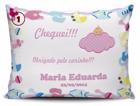 30 Almofadas Personalizadas Para Maternidade Chá Bebe