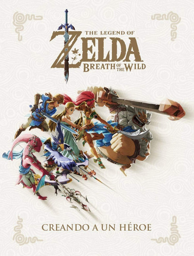Libro The Legend Of Zelda Breath Of The Wild - Norma