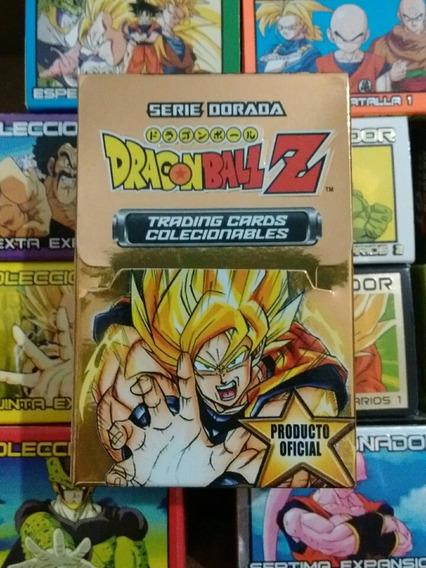Trading Cards Dragon Ball Z Serie Dorada Topps Navarrete