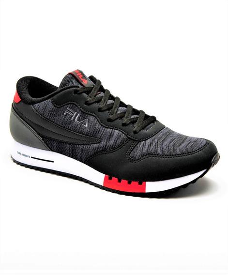 Zapatillas Fila Euro Jogger Sport Urbanas Originales Negra