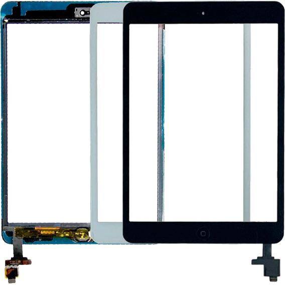Tela Touch iPad Mini 2 A1489 A1490 A1491 + Home + Adesivo Ic
