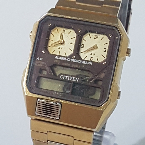 Relogio Citizen Masculino Cm 4.s Todo Original Antigo Do Vov