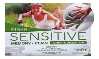 Almohada Inteligente Vicoelastica Plain C/funda Desmontable