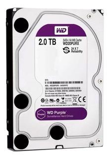 Disco Rigido 2tb Purple Western Digital