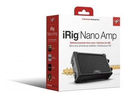 Micro Amplificador Ik Multimedia Irig Nano Amp C/ Interface