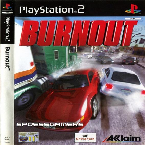 Burnout 1 ( Carros ) Ps2 Desbloqueado Patch