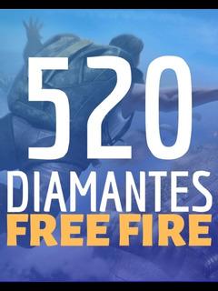 520 Diamantes Free Fire