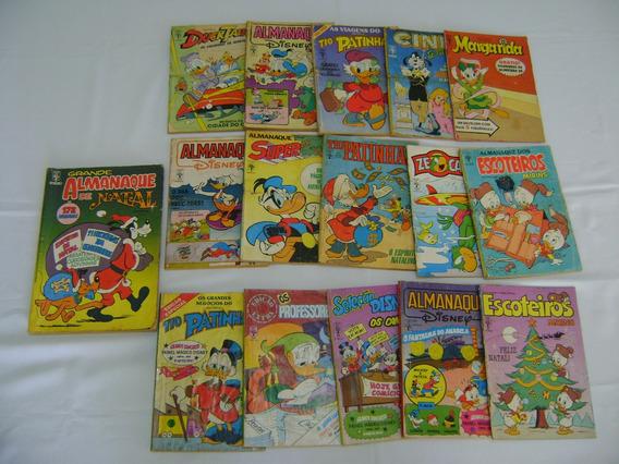 16 Gibís Da Disney Editora Abril, Década De 80, Frete Grátis