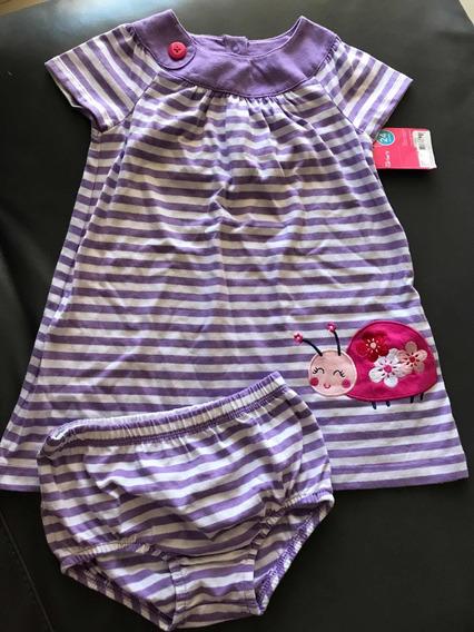 Vestido Niña Nuevo Carters 24 Meses