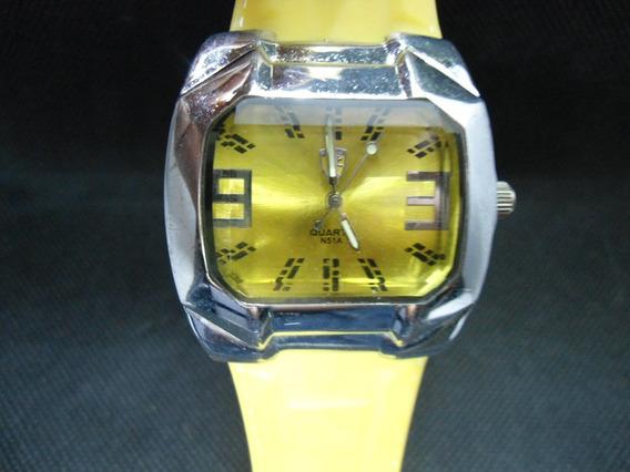 Relógio Quartz Usado Como Mostruario Perfeito Funcionamento