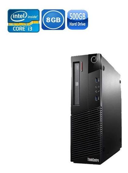 Pc Lenovo M93 Sff Core I3 4° Geração 8gb Hd 500gb