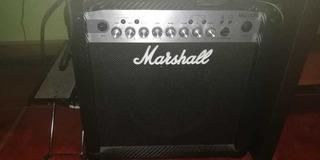 Amplificador Y Pedal Marshall Para Guitarra Electrica