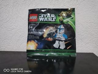 Clone Trooper Lieutenant Minifigura Polibag Star Wars