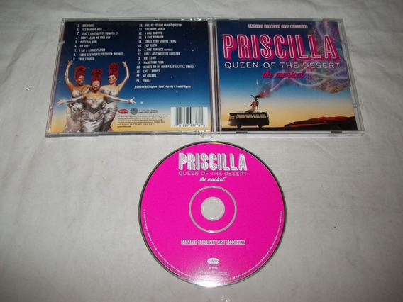 Cd - Priscilla Queen Of The Desert- The Musical