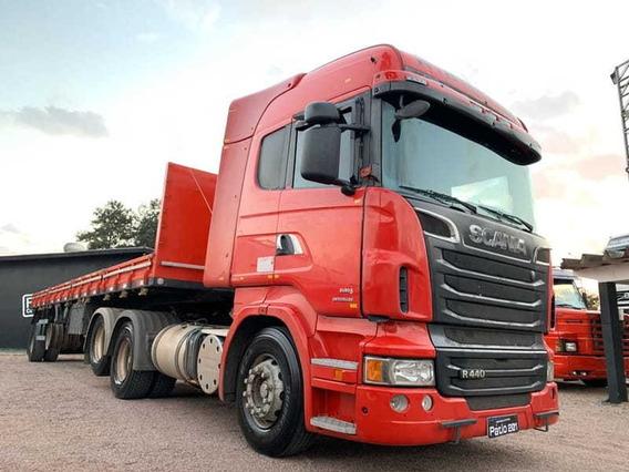 Scania R 440 Highline 6x2 Trucado Ar Cond Retarder