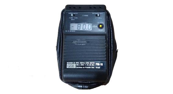 Wgb Pm-10 Medidor De Nivel Portátil +10dbm A -40dbm