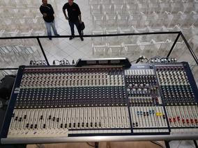 Mesa De Som Soundcraft Gb8 36 Canais