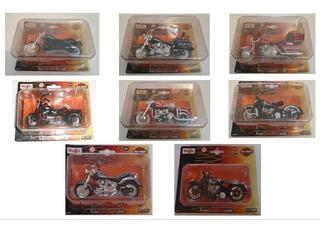 Miniatura Moto Harley Davidson Maisto Diversos Modelos 1/18