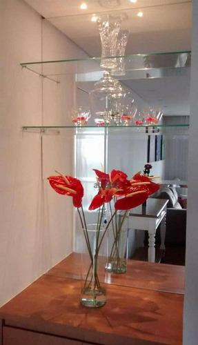 Apartamento Com 3 Dormitórios À Venda, 76 M² Por R$ 590.000,00 - Jardim Bom Tempo - Taboão Da Serra/sp - Ap0343