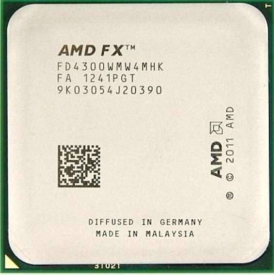 Processador Amd X4 Fx4300 (3.8ghz/8m) Socket Am3+
