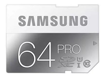 Cartão De Memoria 64gb Samsung Pro Sdxc I Classe 10