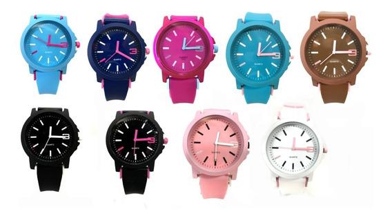 Kit Relógio Feminino Barato Lote C/ 5 Pcs Atacado E Revenda