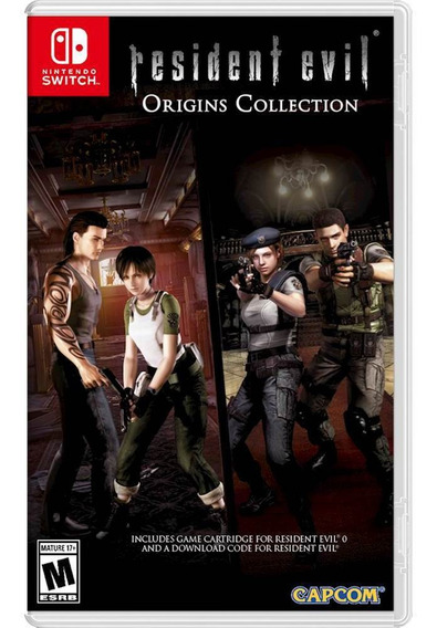 Resident Evil Origins Collection Switch Mídia Física Lacrado