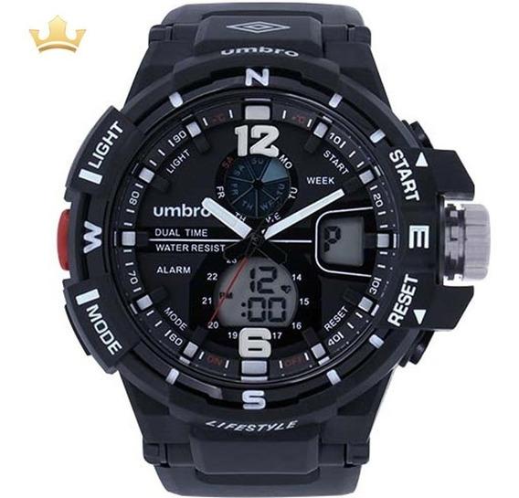 Relógio Umbro Masculino Umb-012-1 Com Nf
