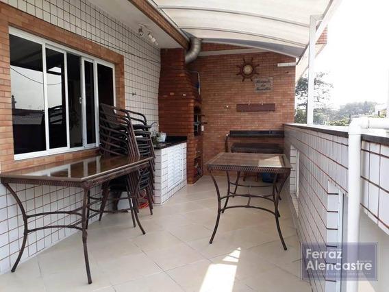Sobreposta Alta 4 Dormitórios À Venda, 220 M² Por R$ 1.000.000 - Embaré - Santos/sp - Ca0021