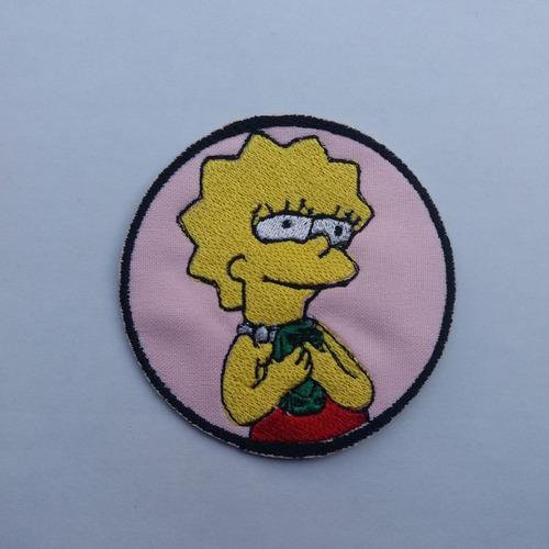 Parche Bordado Simpson Lisa