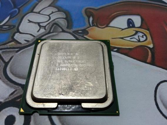 Cpu Computador Celeron D 2.66 Processador 775 Intel