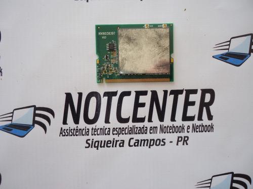 Imagem 1 de 2 de Placa Wifi Notebook Itautec W7635 Wn2302a Envio Por Carta