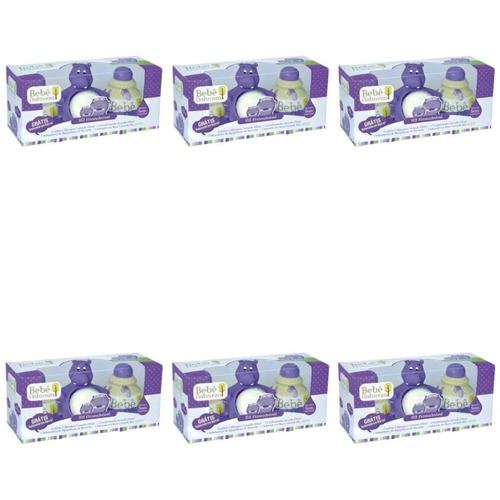 Bebê Natureza Hipopótamo Kit C/4 Produtos (kit C/06)