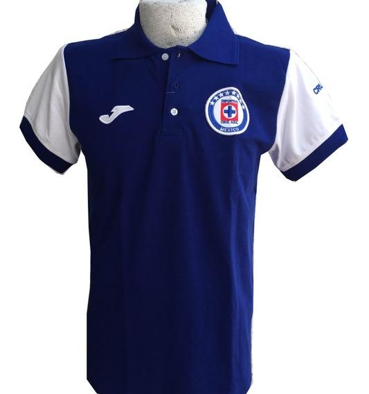 Playera Tipo Polo Cruz Azul Envío Gratis